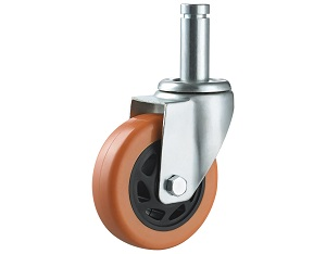 Medium Duty Caster with Polyurethane Wheel